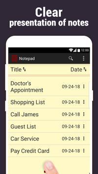 Notepad screenshot 1