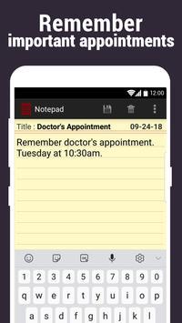 Notepad screenshot 3