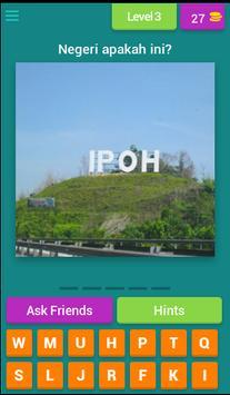 Kuiz Di Negeri Manakah Ini? screenshot 3