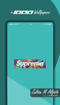 New 🔥 Supreme Wallpapers HD 4K 🔥 screenshot 3