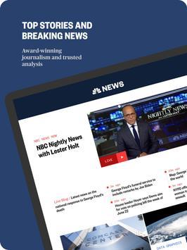 NBC News: Breaking News, US News & Live Video ảnh chụp màn hình 5