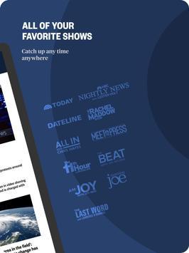 NBC News: Breaking News, US News & Live Video ảnh chụp màn hình 11