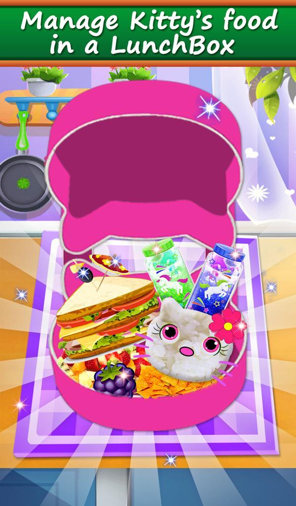 Hello Kitty Makanan Lunchbox Permainan Memasak For Android Apk Download