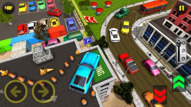 आधुनिक  कार  पार्किंग  सिम्युलेटर: मुफ्त  कार  खेल स्क्रीनशॉट 10