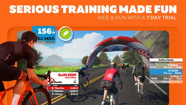 Zwift poster