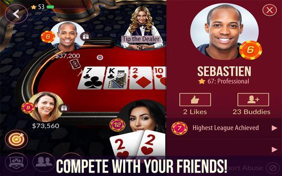 Poker dari Zynga screenshot 11