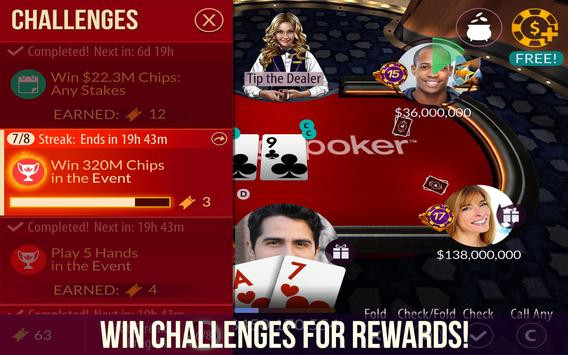 Zynga Poker screenshot 2