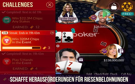 Zynga Poker Screenshot 2