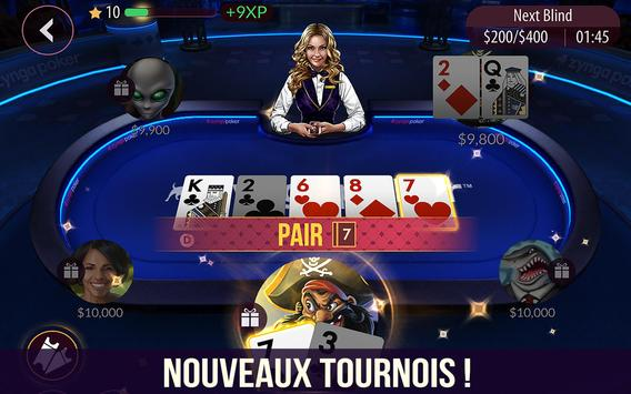Zynga Poker capture d'écran 10
