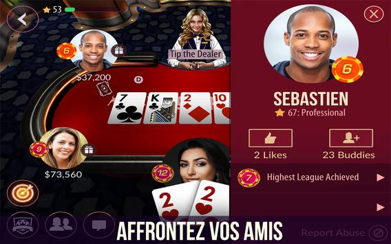 Zynga Poker capture d'écran 1