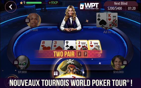 Zynga Poker capture d'écran 5
