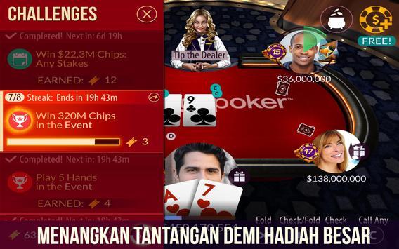 Poker dari Zynga screenshot 12