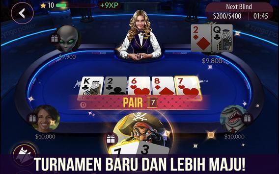 Poker dari Zynga screenshot 5