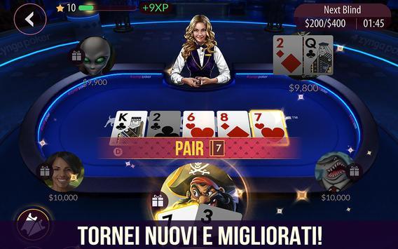 10 Schermata Zynga Poker