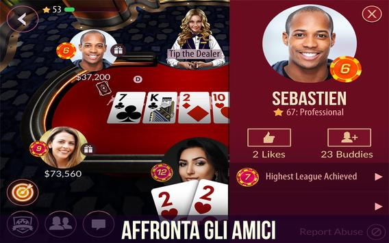 1 Schermata Zynga Poker