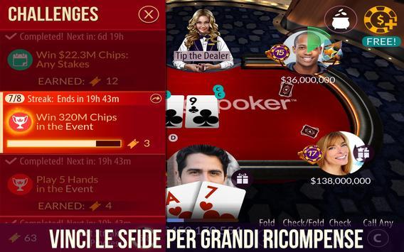 7 Schermata Zynga Poker