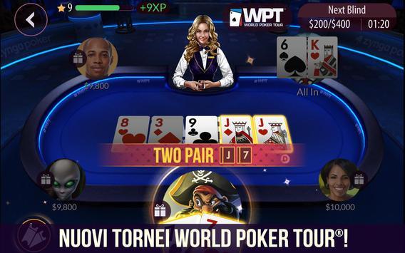 5 Schermata Zynga Poker