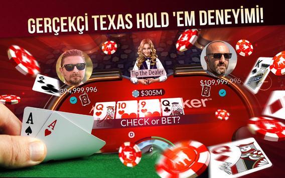 Zynga Poker Ekran Görüntüsü 1