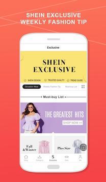SheIn - التسوق موضة نسائية تصوير الشاشة 5