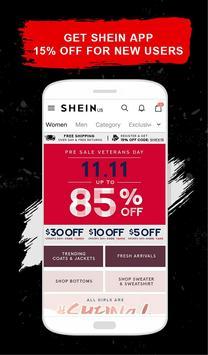 SheIn - التسوق موضة نسائية تصوير الشاشة 1