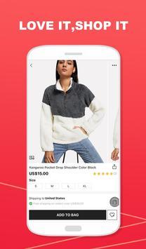 SheIn - التسوق موضة نسائية تصوير الشاشة 2