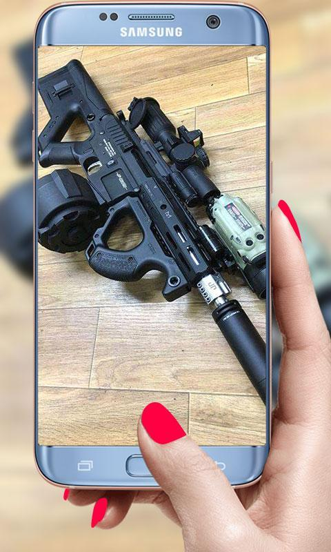 Guns Live Wallpaper 3D 2019: Bullets Background for Android