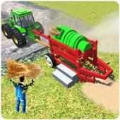 Tractor Thresher Simulator 2019: Farming Games icon
