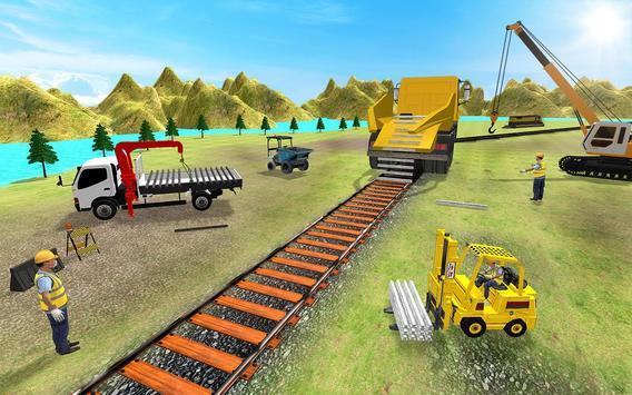 Train Track Construction Free: Train Games screenshot 1
