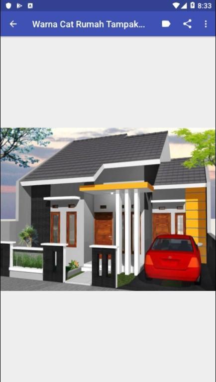 Kombinasi Warna Cat Rumah Kayu  warna cat rumah minimalis for android apk download