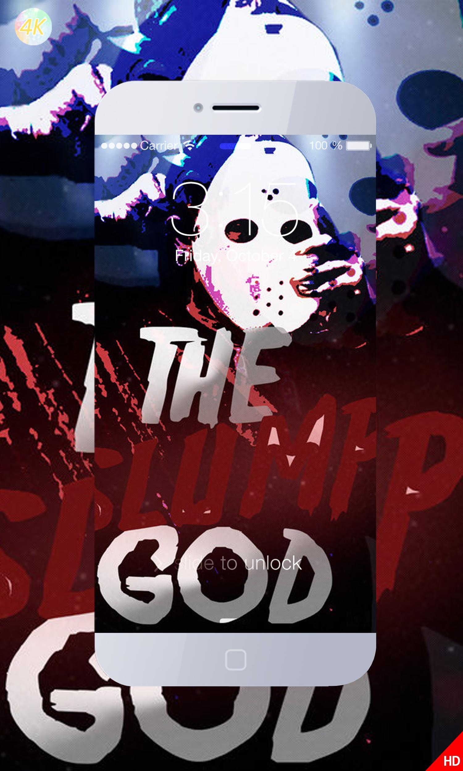 Screensaver Ski Mask The Slump God Art