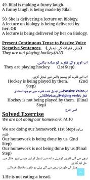 Active and Passive Voice screenshot 3
