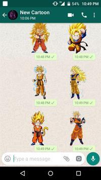 New Cartoon Stickers For Whatsapp - WAStickerApps screenshot 4