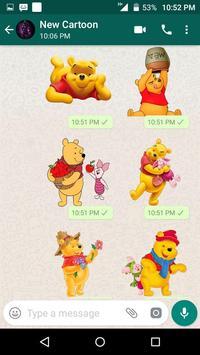 New Cartoon Stickers For Whatsapp - WAStickerApps screenshot 5