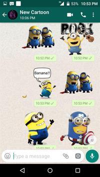 New Cartoon Stickers For Whatsapp - WAStickerApps screenshot 6