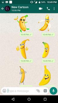 New Cartoon Stickers For Whatsapp - WAStickerApps screenshot 3