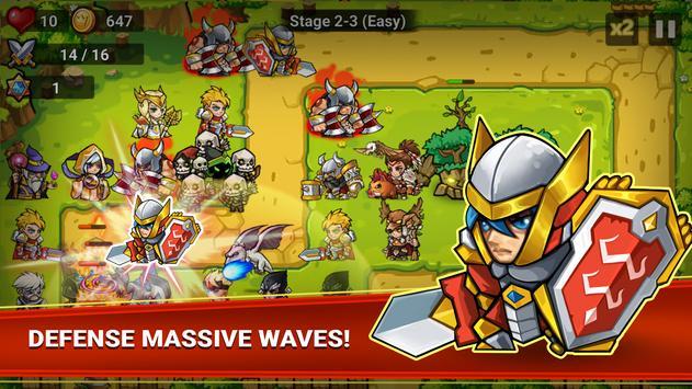 Defense Heroes screenshot 1