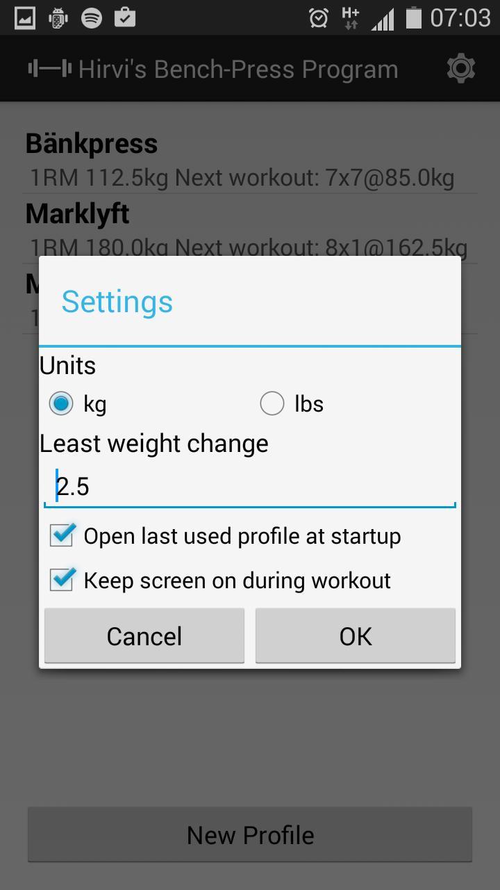 Hirvi S Bench Press Program Fur Android Apk Herunterladen