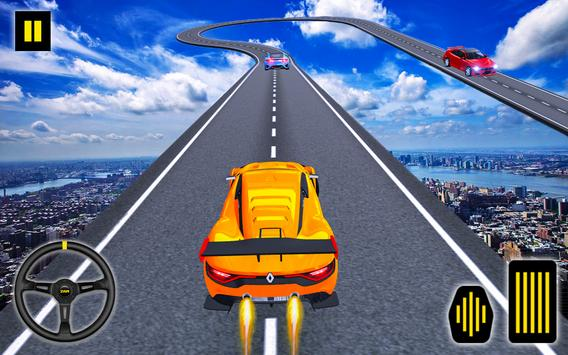 Car Stunt Ramp Race - Impossible Stunt Games poster