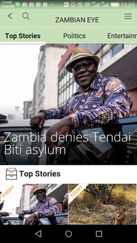 Download Zambian Eye News latest 1 1 7 Android APK