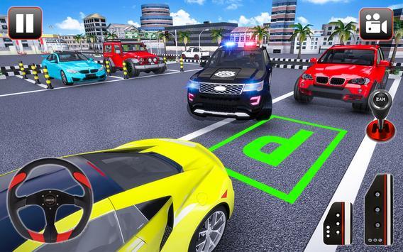Police Parking Adventure - Car Games Rush 3D screenshot 4