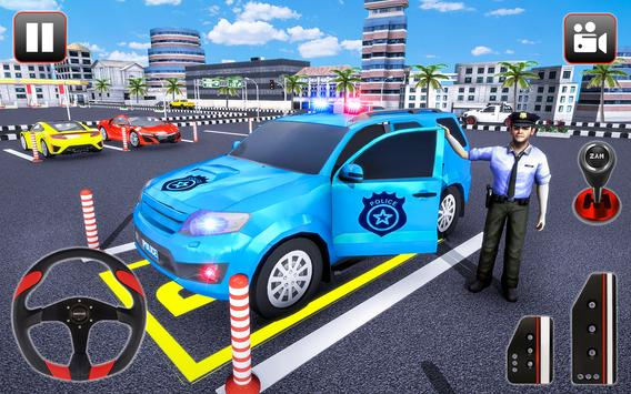 Police Parking Adventure - Car Games Rush 3D poster