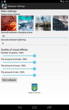 Живые обои World of Tanks Ekran Görüntüsü 14