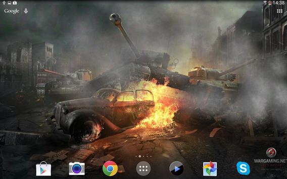 Живые обои World of Tanks Ekran Görüntüsü 5