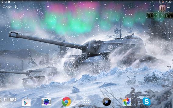 Живые обои World of Tanks Ekran Görüntüsü 6