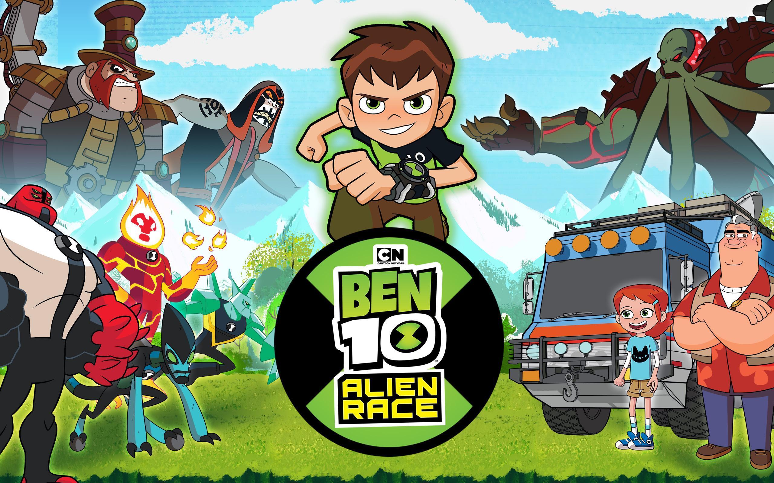 ben 10 racing games free download