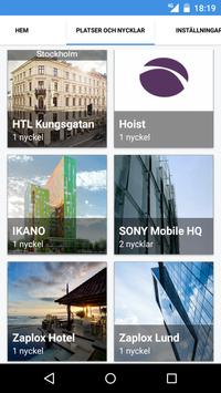Zaplox Mobile Keys screenshot 4