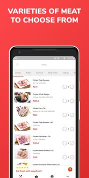 Raw Chicken, Mutton, SeaFood, Meat Ordering App screenshot 2