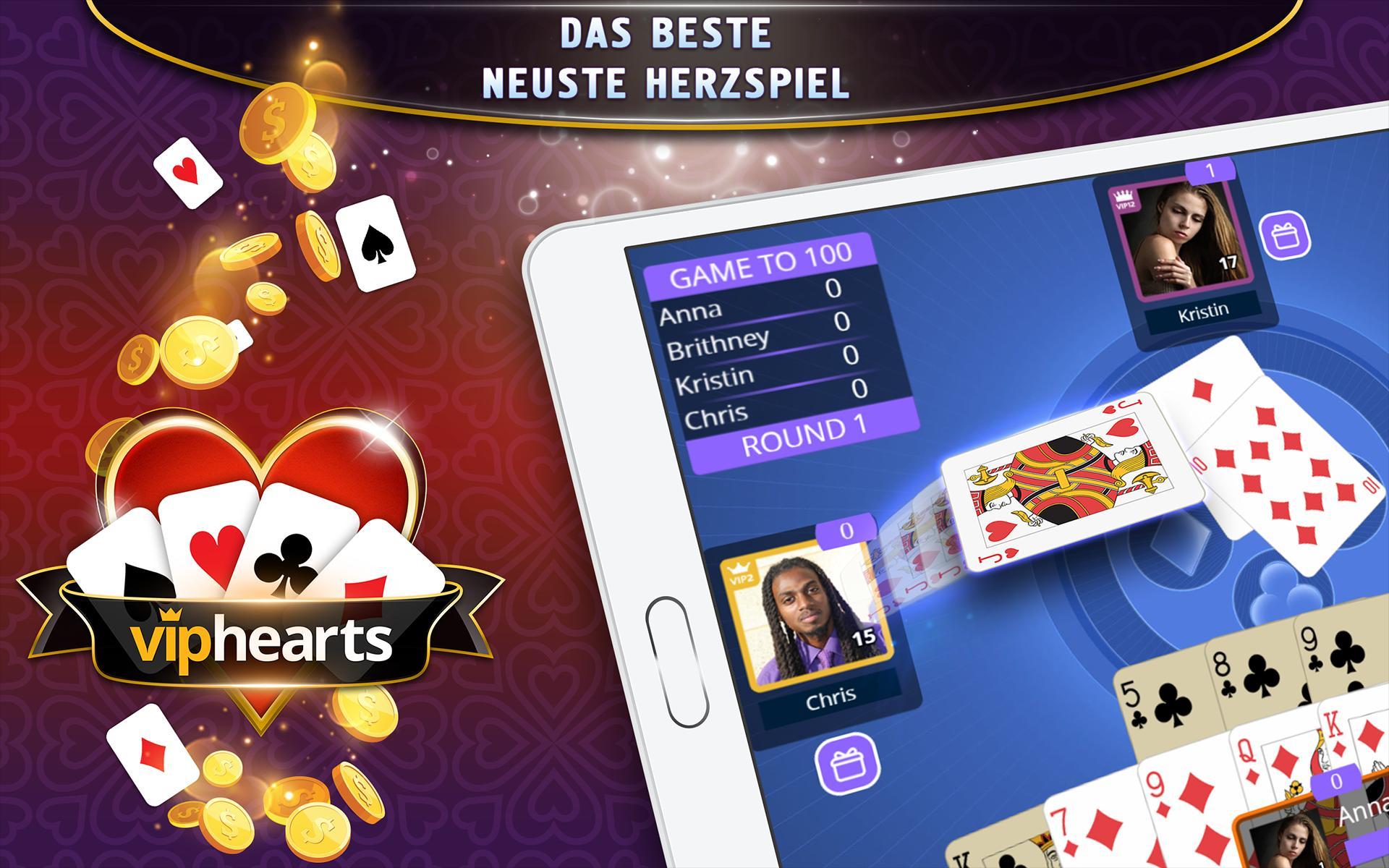 Hearts Kartenspiel Online