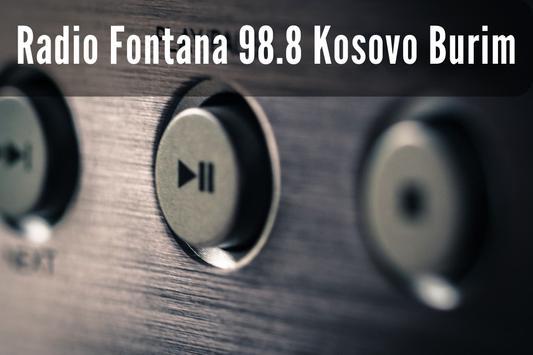 radio fontana 98.8 kosovo burim screenshot 6