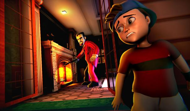 4 Schermata Scary Stranger 3D